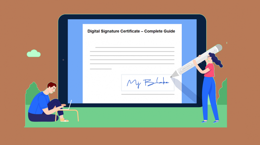 digital signature certificate in bangalore